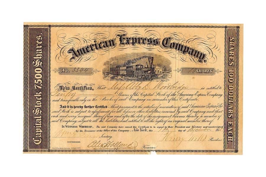 American Express Aktie