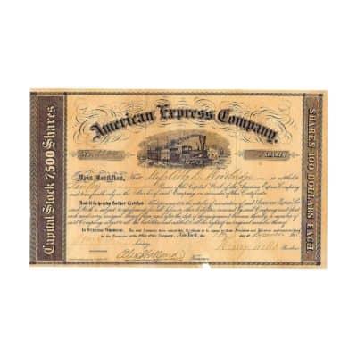 W_AK_USA_1858_American Express Company_A_91